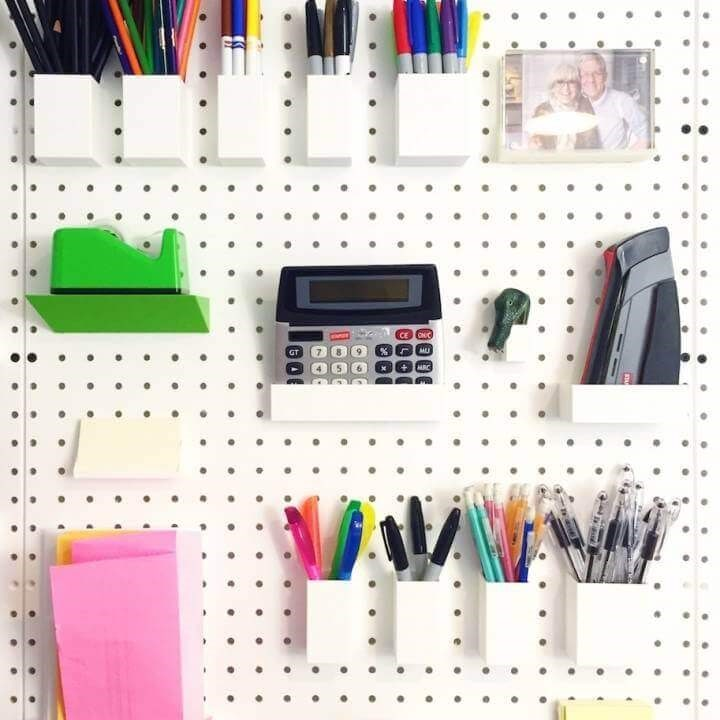 Pegboard collection